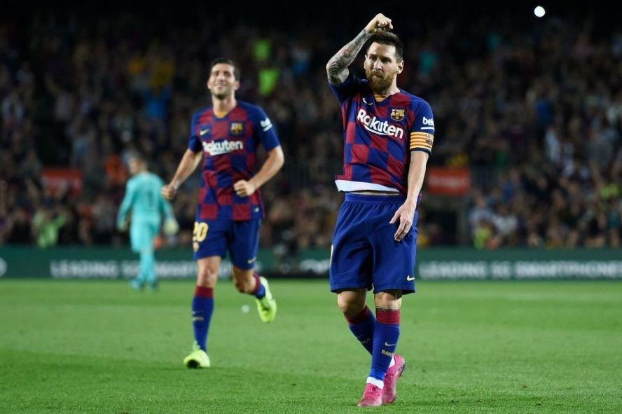 Месси забил за «Барселону» 100 мячей из-за пределов штрафной