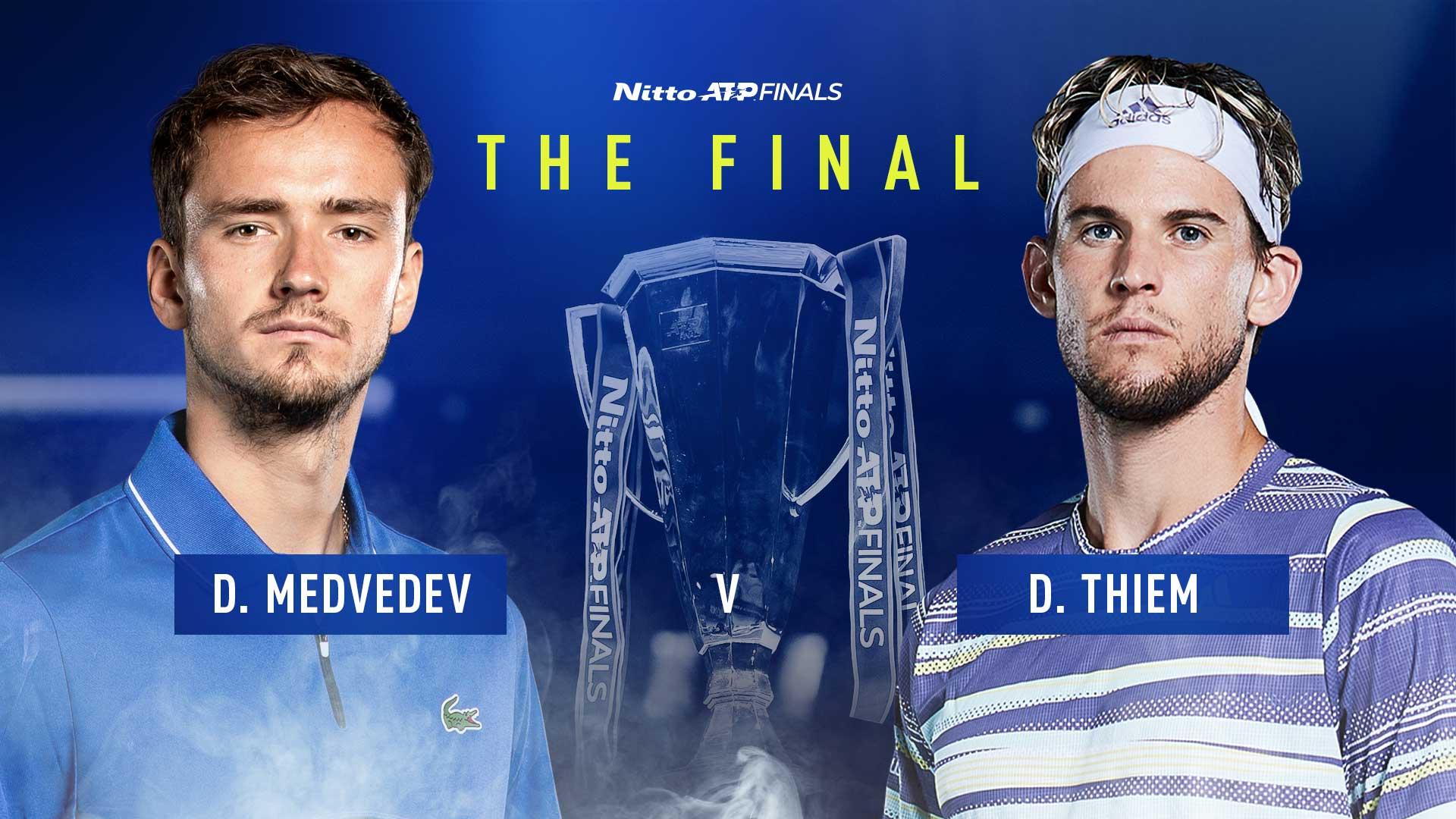 Медведев сыграет в финале с Домиником Тимом