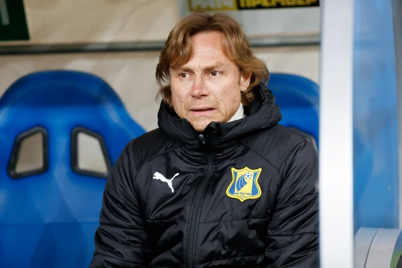 Главный тренер «Ростова» Валерий Карпин