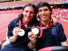 Агуэро и Месси - победители Олимпиады-2008