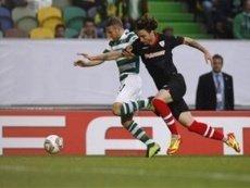 Эпизод первого матча «Спортинг Лиссабон» — «Атлетик Бильбао» в ЛЕ 2011/2012