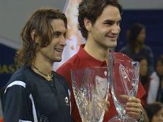 Федерер (справа) скорее выиграет у Феррера (слева) в четвертьфинале Мадрида, чем наоборот