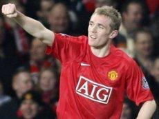 Даррен Флетчер («Манчестер Юнайтед») стал автором дубля в лучшем матче АПЛ