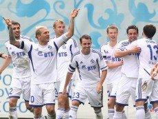 Футболисты 'Динамо'