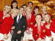 По мнению букмекеров, у гандболисток России на ОИ в Лондоне есть все шансы повторить достижение 2008 года
