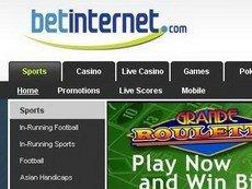 Скриншот сайта Betinternet