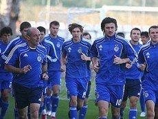 Футболисты киевского 'Динамо'
