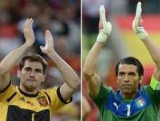 В УЕФА определили, какие 23 футболиста лучше других сыграли на Евро-2012