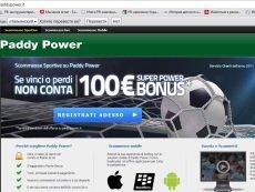 Paddy Power успешно вышел на рынок Италии