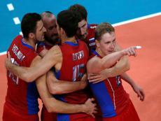 Российские волейболисты впервые выиграли «золото» Олимпиады