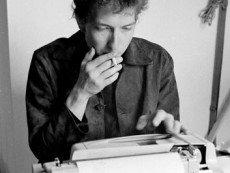 Боб Дилан за работой над 'Тарантулом'