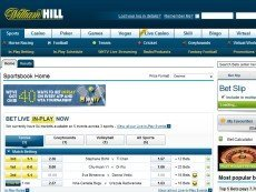 Скриншот сайта William Hill