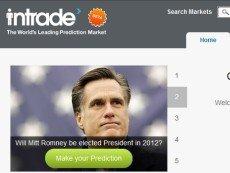 Скриншот сайта Intrade
