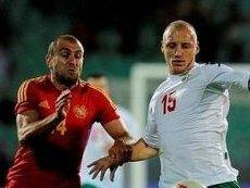 Эпизод матча Болгария - Армения