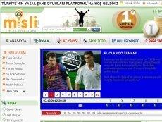 Скриншот сайта Misli.com