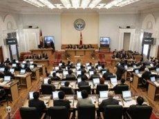 На заседании парламента Кыргызстана
