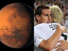 Удастся ли Германии выиграть чемпионат мира, до того как нога человека ступит на «красную планету»?