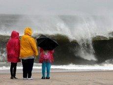 Во время урагана 'Сэнди'