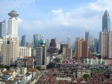 В Шанхае