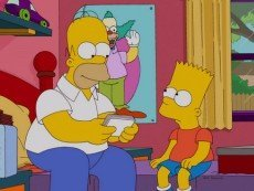 Эпизод нового выпуска сериала 'Симпсоны'