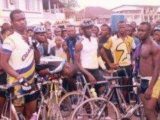 Африканские велосипедисты
