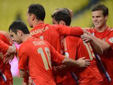 Сборная России завершит год на 9-м месте в рейтинге FIFA