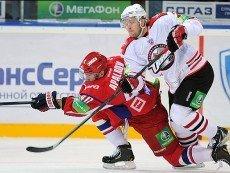 Матч соперников в Ярославле завершился со счетом 2:1 в пользу хозяев льда
