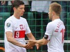 Атакующий дортмундский дуэт Блащиковски-Левандовски должен обеспечить Польше разгромную победу