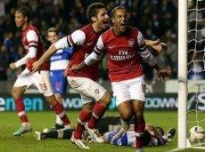 В последних двух матчах против «Арсенала» «Рэдинг» пропустил 12 голов