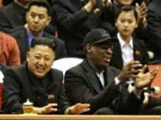 Деннис Родман подружился с Ким Чен Ыном, приехав в КНДР для съемок документального фильма
