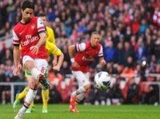 «Арсенал» занимает третью строчку в турнирной таблице АПЛ