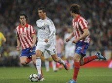 В последних 8-ми матчах против «Атлетико» Криштиану забил 8 голов