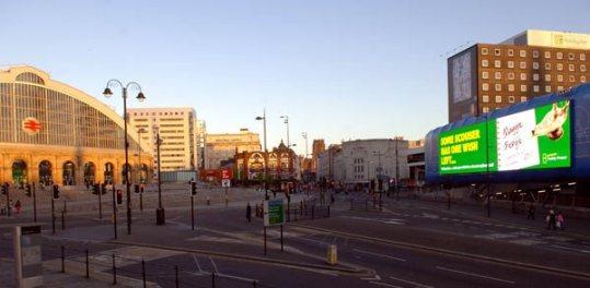 Новую рекламу Paddy Power разместил в центре Ливерпуля