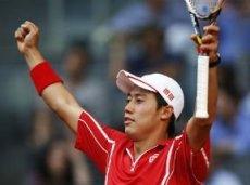 В третьем круге Нисикори обыграл Федерера