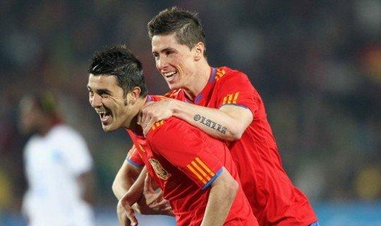 Испанцы выпустят пар в матче с Бразилией