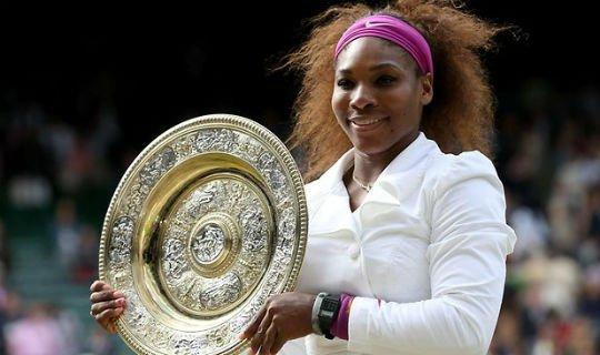 Серена Уильямс в прошлом году выиграла Уимблдон