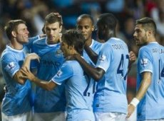 В матче против «Милана» у «Манчестер Сити» не было проблем в атаке