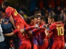 Румынская команда одержит победу
