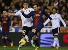 «Барселона» обойдет «Валенсию» в первом тайме выездной очной встречи