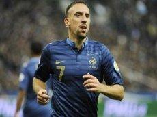 Франк Рибери забил четыре гола в трех последних матчах за Францию