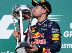 Победа на Гран-при США стала восьмой подряд для Феттеля