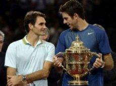 Федерер и Дель Потро играли на прошлой неделе в Базеле
