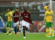 «Милан» выиграет у «Селтика»