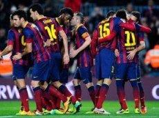 «Барселона» поднажмет во втором тайме