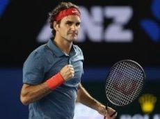 Федерер пока отдал в Мельбурне соперникам всего один сет