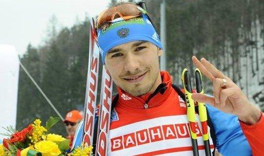 Антон Шипулин выиграл 2 гонки в Антхольце в прошлом сезоне
