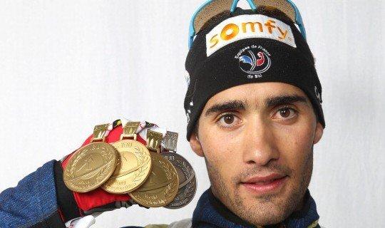 Мартен Фуркад - фаворит мужского спринта на Олимпийских играх