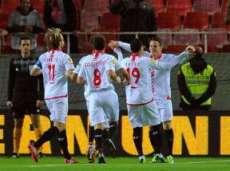 «Севилья» выиграет в матче Лиги Европы на «Рамон Санчес Писхуан»