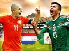 Нидерланды фавориты в игре с Мексикой