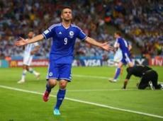 Ибишевич забил первый гол Боснии на чемпионатах мира